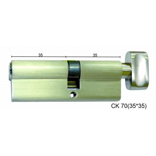 Цилиндр латунный IMPERIAL СК 70 (35*35) t/к лаз.