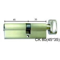Цилиндр латунный IMPERIAL СК 80 (45*35) t/к лаз.