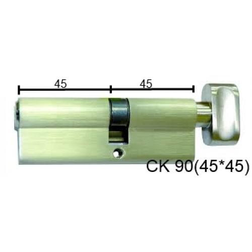Цилиндр латунный IMPERIAL СК 90 (45*45) t/к лаз.